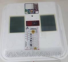 Инкубатор для яиц Рябушка Smart на 70 яиц ручной переворот, аналоговый, Тэн
