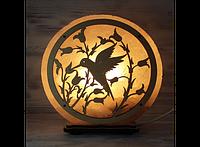 Соляная лампа Птица