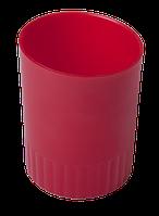 Підставка для ручок BM.6351-05 пл кругла, червоний (1/30)