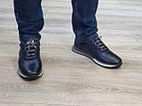 Туфлі чоловічі Inshoes сині, фото 4