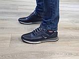 Туфлі чоловічі Inshoes сині, фото 5