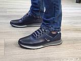 Туфлі чоловічі Inshoes сині, фото 6