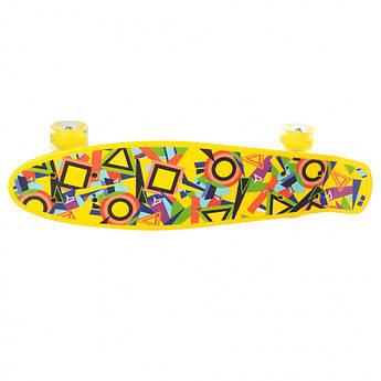 Скейт MS 0749-1 (Желтый)