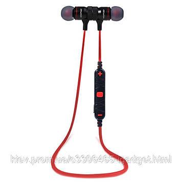 Беспроводные Bluetooth наушники Awei A920BL с поддержкой multipoint (Красный)