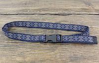 Пояс  стильный черный на защелке, качественный, детский текстиль Разм: универсальный, Отл сост