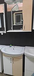Комплект мебели для ванной комнаты НИКОЛЬ бежевый