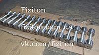 Гантельный ряд от 1 до 10 кг полностью без покрытия