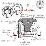 Зимняя куртка для мальчика NANO F18MS291 Black. Размеры 5 - 12 лет., фото 3
