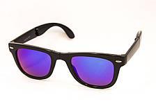 Складные зеркальные очки Wayfarer 911-73, фото 2