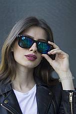 Складные зеркальные очки Wayfarer 911-73, фото 3