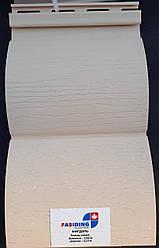 Вініловий сайдінг Fasiding колір Мигдаль блок-хаус