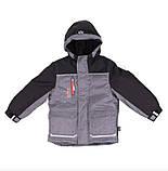 Зимняя куртка для мальчика NANO F18MS291 Black. Размеры 5 - 12 лет., фото 2