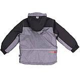 Зимняя куртка для мальчика NANO F18MS291 Black. Размеры 5 - 12 лет., фото 4