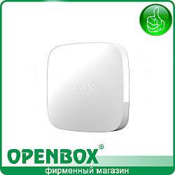 Беспроводной датчик обнаружения затопления AJAX LeaksProtect (белый)