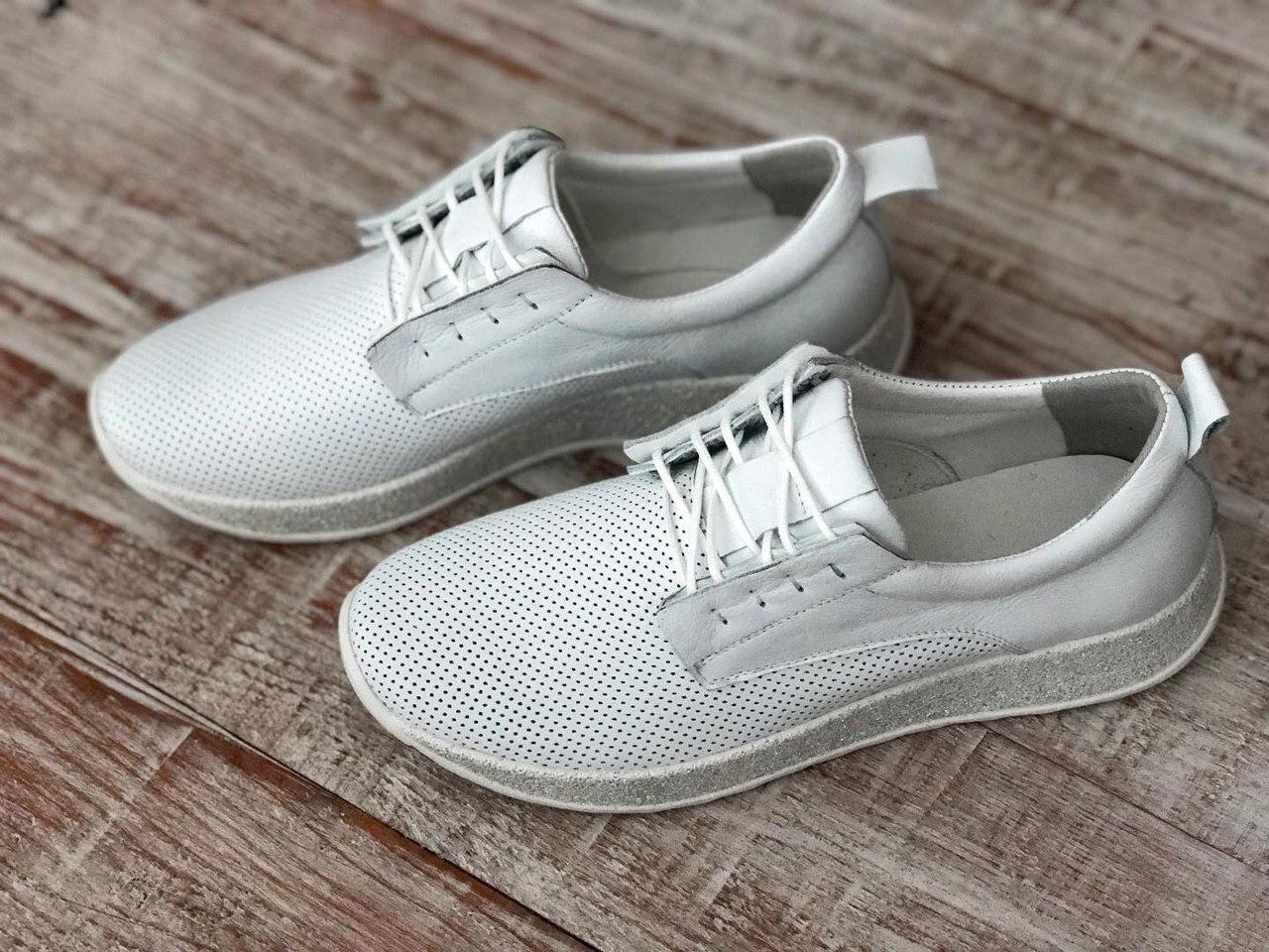 Кожаные женские кроссовки Miluchi 1695б размеры 36,37,38,39,40,41