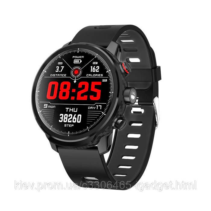 Умные часы Blaze Light со спортивными режимами и влагозащитой (Черный)