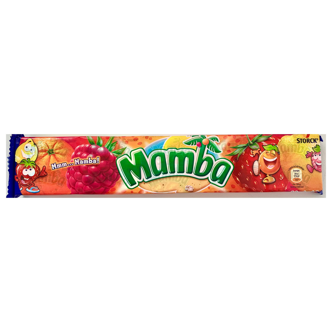 Mamba Fruits (Малина, клубника, апельсин, лимон)