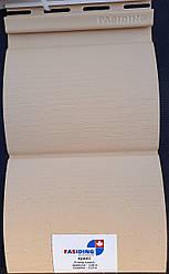 Сайдинг стеновой Fasiding (Фасайдинг) цвет Арахис блок-хаус