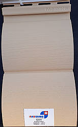 Сайдинг стіновий Fasiding (Фасайдинг) колір Арахіс блок-хаус