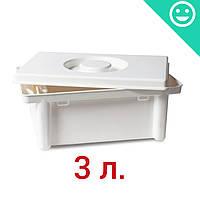 Емкость для очистки и дезинфекции инструментов и медицинских изделий 3л