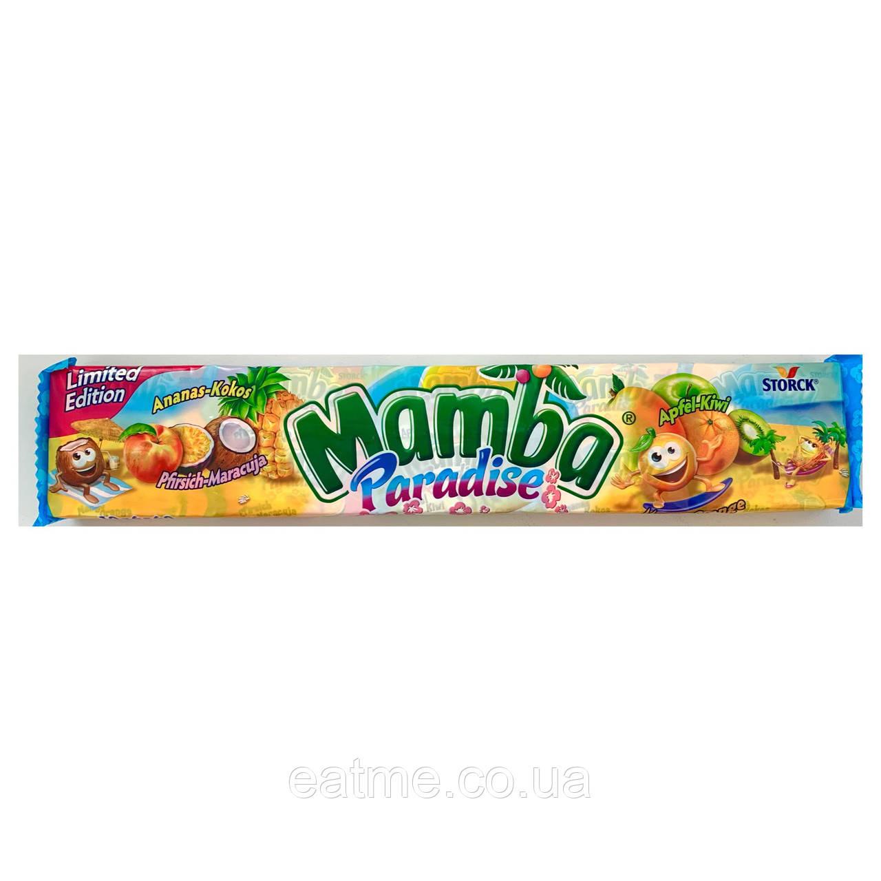 Mamba Paradise (Ананас+кокос, Персик+маракуйя, яблоко+киви)