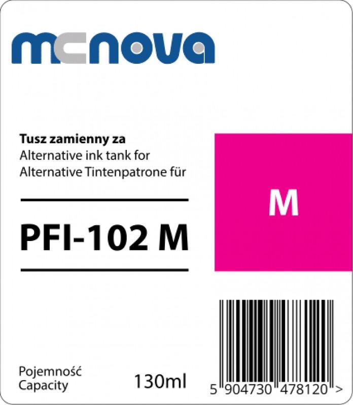 Картридж MC-NOVA PFI-102M для Canon iPF605/iPF710, Magenta, 130 мл