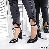 Шикарные женские туфли на каблуке, фото 3