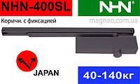 Доводчик рейковий для дверей 40-150 кг з регульованим діапазоном потужності Daihatsu NHN-400 (Японія)