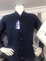 Стильная мужская рубашка  лен Турция    46р-52р