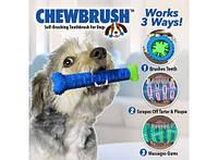 Самоочищающаяся зубная щетка для собак ChewBrush