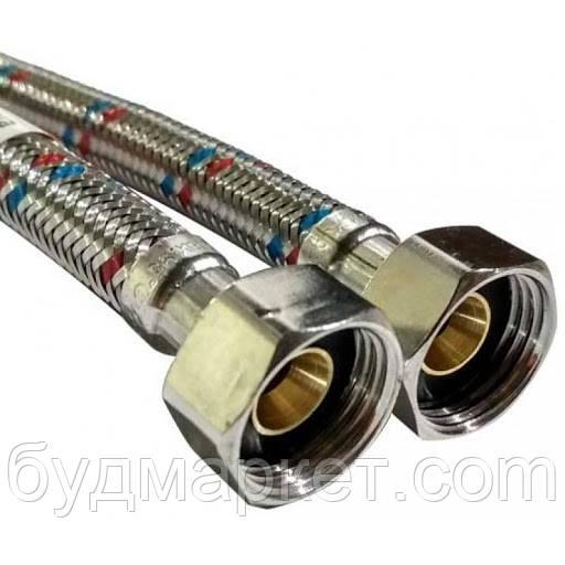 Шланг для воды АБ 1/2 50 см ВВ HBB50