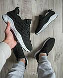 Мужские легкие кроссовки OS030 черные, фото 2