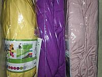Трикотажная простынь на резинке Хлопок Турция 180*200 Евро фиолетовый