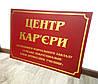 Табличка настінна, вивіска бардова з золотом 50 х 70  см