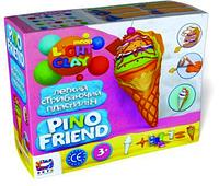 Набір для творчості з легкими моделіном  PINO FRIENDS - МОРОЗИВО АЙСИ