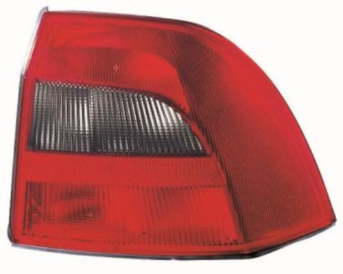 Фонарь задний Opel Vectra B '99-02 левый красно-дымчатый DEPO 9119527