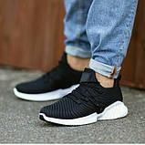 Мужские легкие кроссовки OS032 черные, фото 2