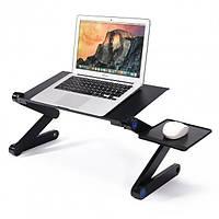 Стол для ноутбука Laptop table T8 с кулером