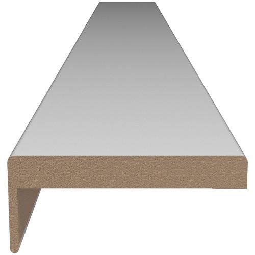 Наличник МДФ Г-образный (стоевой) 70*10*30 прямоугол.