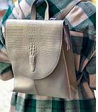 Шкіряний рюкзак, фото 3