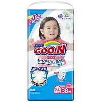 Трусики-підгузки GOO.N для дівчаток 12-20 кг (розмір Big (XL), 38 шт)