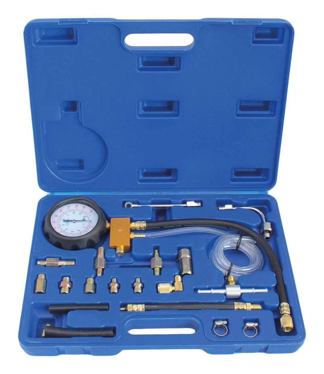 Тестер тиску паливної системи, набір 20 одиниць SATRA S-FP114