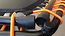 """Фитнес батут с ручкой 50""""(127см), черный/оранжевый, фото 2"""