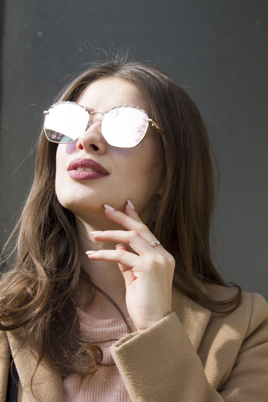 Солнцезащитные женские очки 9372-3