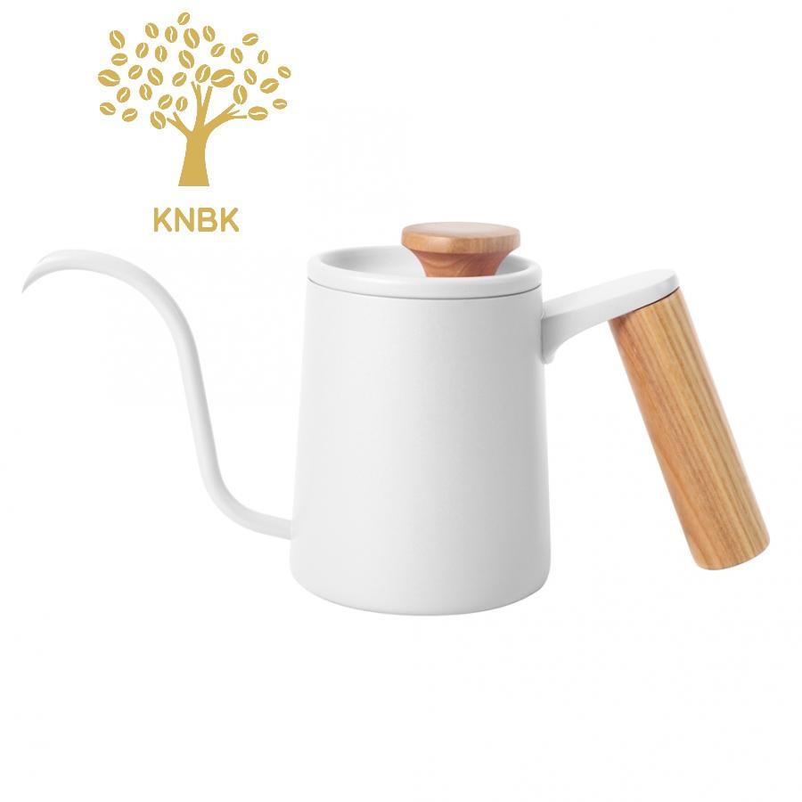 Чайник для кави з довгим носиком 600 мл (Білий)