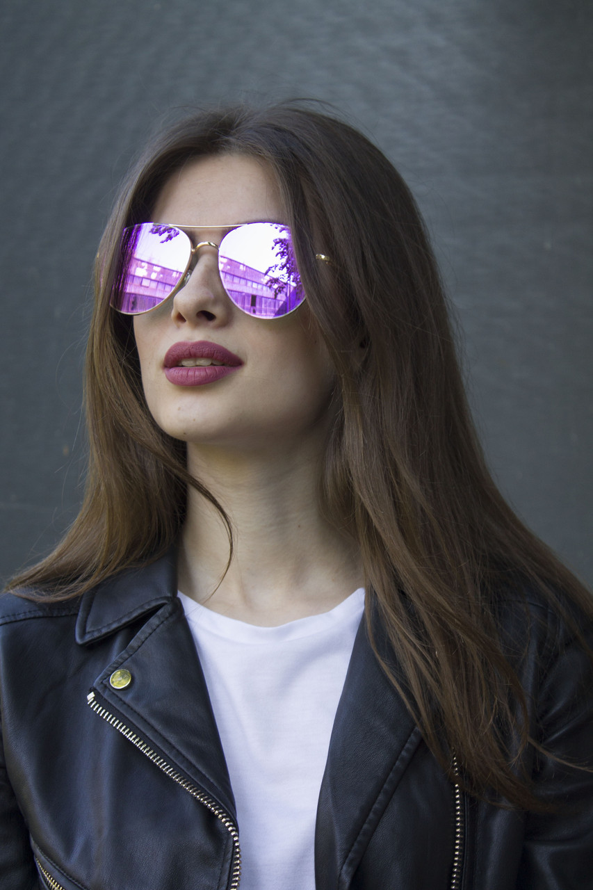 Солнцезащитные женские очки 8304-5