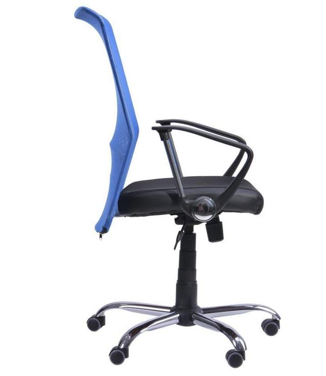 Кресло АЭРО HB сиденье Сетка черная, Неаполь N-20, спинка Сетка синяя (2)