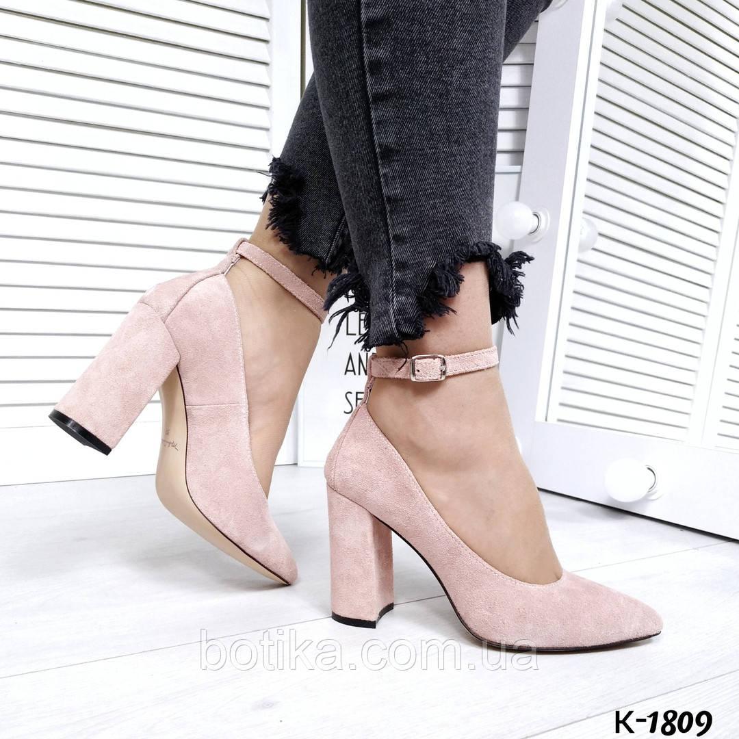 Шикарные женские туфли на каблуке