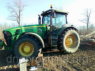 John Deere: применяемость сельскохозяйственных шин на энергонасыщенных и универсально-пропашных тракторах John Deere (Джон Дир)