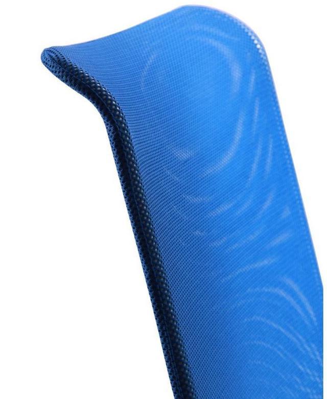Кресло АЭРО HB сиденье Сетка черная, Неаполь N-20/спинка Сетка синяя (6)